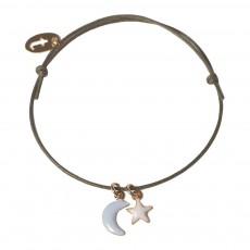 Bracelet Réglable Moonlight Vert d'eau