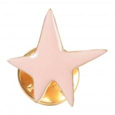 Pins Etoile Star Rose pâle