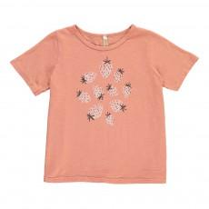 T-Shirt Fraises Rose