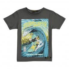 T-Shirt Superhéros Dalton Gris foncé