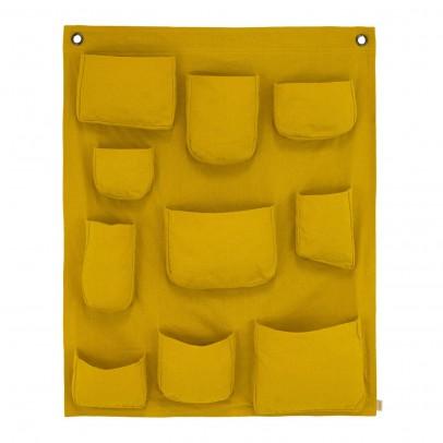 Pochette murale jaune tournesol numero 74 d coration for Pochette murale de rangement