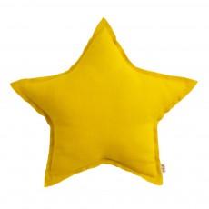 Coussin étoile Jaune