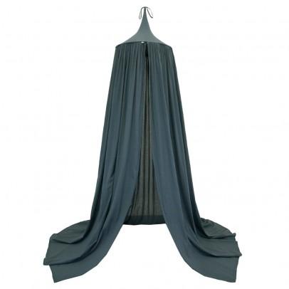 ciel de lit bleu gris numero 74 d coration smallable. Black Bedroom Furniture Sets. Home Design Ideas