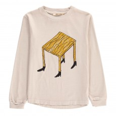 T-Shirt ML Table Coton Bio Ecru