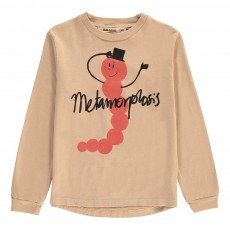 T-Shirt ML Metamorphose Coton Bio Beige