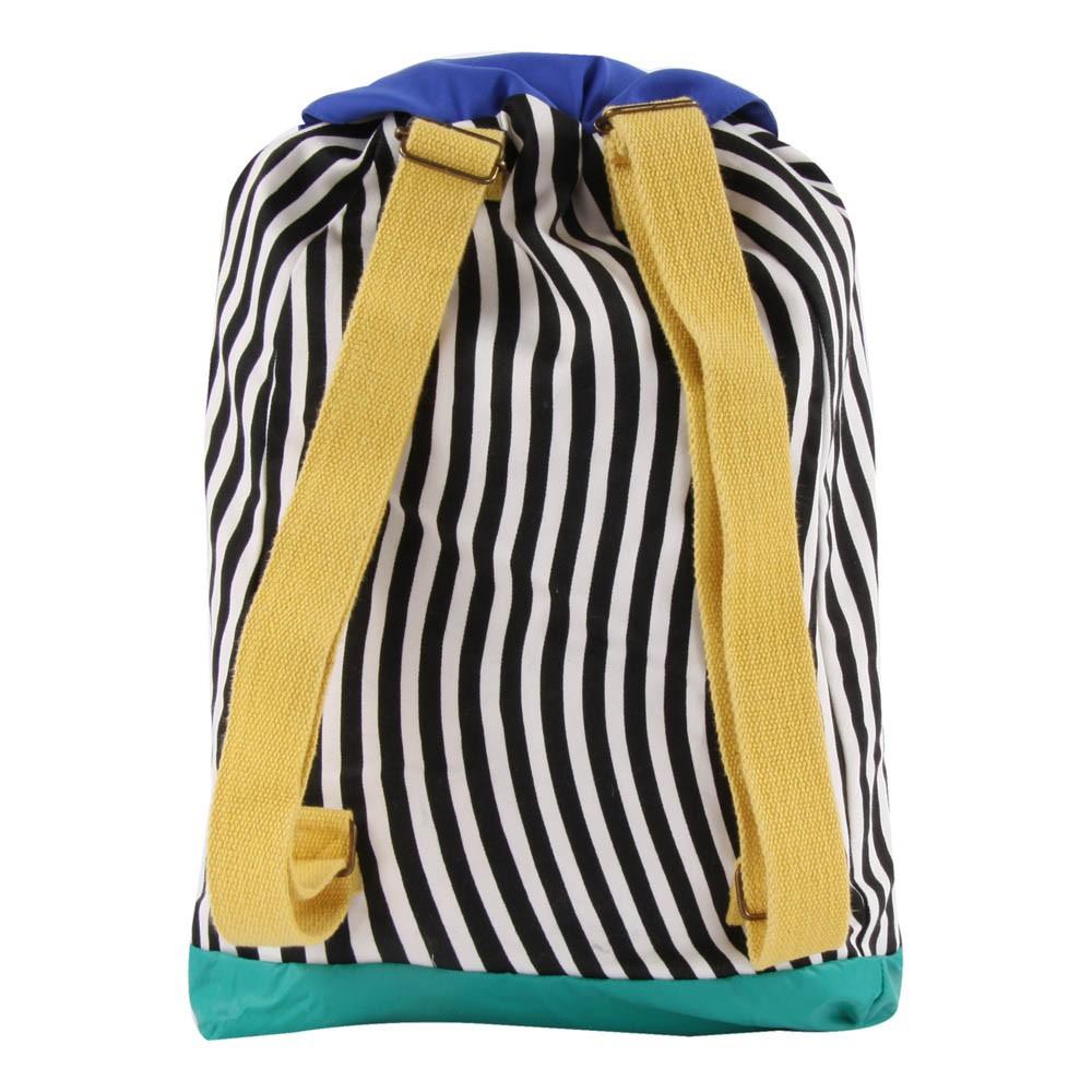 sac dos ray multicolore blanc cass bobo choses mode enfant smallable. Black Bedroom Furniture Sets. Home Design Ideas