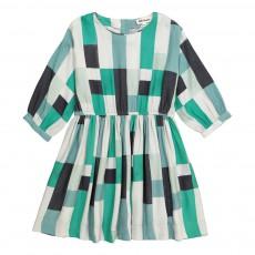 Robe Géométrique Thétis Vert
