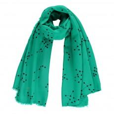 Foulard Imprimé Vert