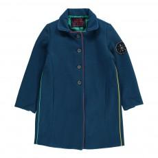 Manteau Flannel Bleu