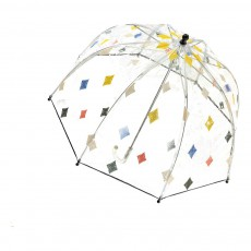 Parapluie Transparent Losanges Multicolore