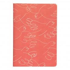 Cahier Oiseaux 80 Pages Papier Recyclé Rouille