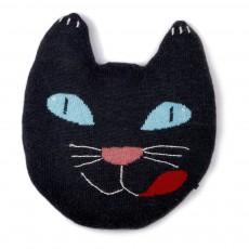 Coussin chat Bleu nuit