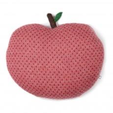 Coussin pomme à pois Rose