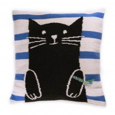 Coussin chat Multicolore