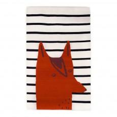 Tapis renard Multicolore
