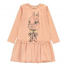 Robe Lapin Everly Rose pêche