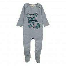 Pyjama Chien Nat Gris chiné
