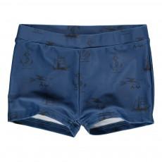 Boxer Bain Nautique Don Bleu marine