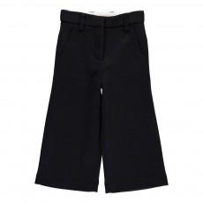 Pantalon Flare Bleu nuit