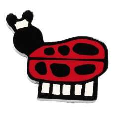 Broche Coccinelle Rouge
