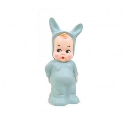 lampe baby lapin bleu turquoise lapin and me d coration smallable. Black Bedroom Furniture Sets. Home Design Ideas