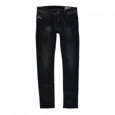Jogg Jean Skinny Délavé Sleenker Bleu jean
