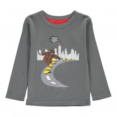 T-Shirt King Kong Tom Gris anthracite