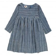Robe Rayée Sacha Bleu