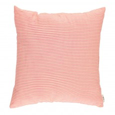 Coussin complet 30x30 cm Rayures Rose