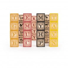 Cubes en Allemand Multicolore