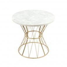 Table Tamtam marbre Doré