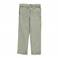 Pantalon Chino Octo Vert argile