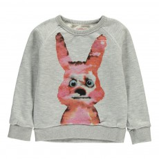Sweat Lapin Gris chiné