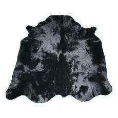Peau de vache teintée Noir