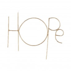 Mot Hope Zoé Rumeau x Smallable Doré