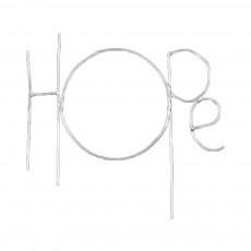 Mot Hope Zoé Rumeau x Smallable Argenté