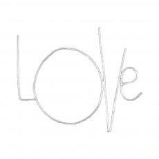 Mot Love Zoé Rumeau x Smallable Argenté