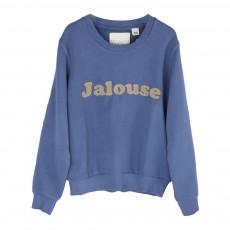 """Sweat """"Jalouse"""" Bleu gris"""