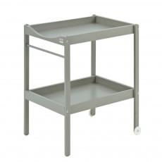 Table à langer - Laqué Gris
