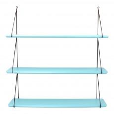 Etagères Babou 3 étagères 66 cm Bleu turquoise