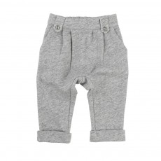 Pantalon Molleton Gris chiné