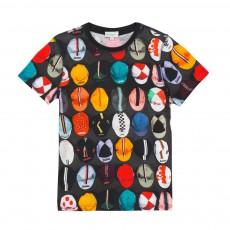 T-shirt Casquettes Moe Gris foncé