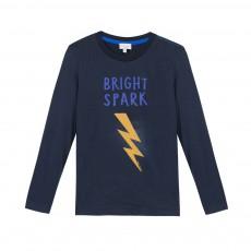 T-shirt Eclair Mikko Bleu nuit