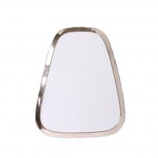 Miroir rectangle en maillechort 40x30 cm Naturel