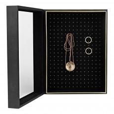 Boîte à bijoux Exhibit Noir