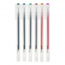 Stylos encre gel - Set de 6 Multicolore