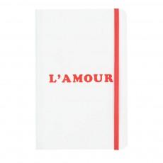"""Carnet """"L'Amour"""" Blanc"""