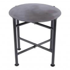 Table ciseau en métal Noir