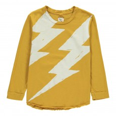 T-Shirt Coton Bio Eclair Flash Jaune