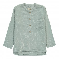 Blouse Tie and Dye Juno Bleu gris